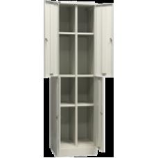 Офисный шкаф архивный ШАМ-24,0 (1860х600х500) 4 отделения с 1 полкой
