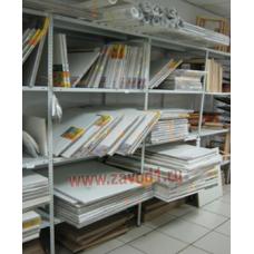 Стеллаж СТ (2000х700/1000/1200/1500х600) ВхШхГ. новинка