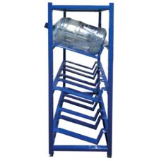 Стеллаж для бутилированной воды СТВ-8 (1640х690х455) 4 полки