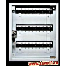 Шкафчик для ключей со стеклом СВ-30С