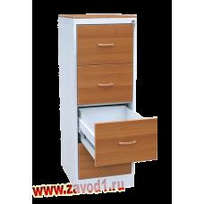 Шкаф картотечный КР-4 фасад ЛДСП 1310х485х600 (под заказ 10-12 р.д)