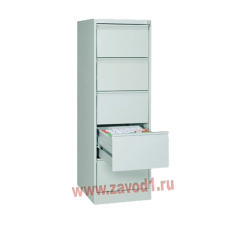 Шкаф картотечный КР-5 (5 ящиков) 1610х485х600 (под заказ 7-10 р.д)