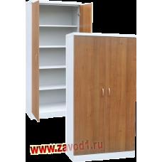 Архивный офисный шкаф ША-910 ЛДСП (1860х910х450) 4 полки (сварной)