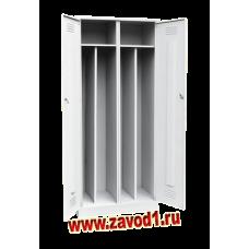 Шкаф для одежды ШР-21-2/800 с перегородкой (Сварной) (1860х800х500)