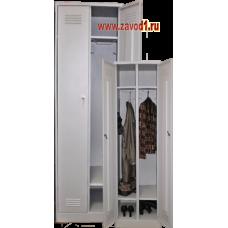Шкаф для одежды ШР-22 с полкой под обувь (сварной) (1860х600/800х500). новинка