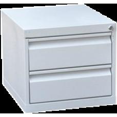 Тумба картотечная настольная с выдвижными ящиками ТК-2 (400х450х500)мм
