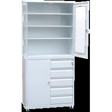 Шкаф для медикаментов с ящиками (1850х800х400) под заказ 7р. д