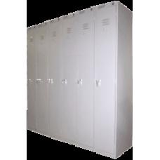 Сборный модулем шкаф для одеждыШРС-11/6 секций (1850х1800/2400х500)