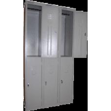 Сборный модулем шкаф для одежды ШРС-12/3 секции на 6 отделений (1860х900х500)