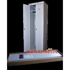 Шкаф для одежды ШРК-22 (в разобранном виде) клепка (1850х530/600/800х490)