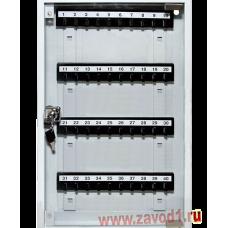 Шкафчик для ключей со стеклом СВ-40С