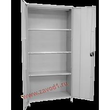 Стеллаж СТ-Д (2000х1000х250) (в комплектации  двери и боковые зашивки)