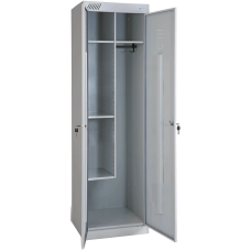 Шкаф для уборочного инвентаря ШМУ-530 (разборный, сборка на клепках)