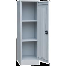 Архивный хозяйственный шкаф ША-02 (1345х400х500) 2 полки (Сварной)