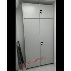 Стеллаж СТ-Д (2500х1000х250) (в комплектации  двери и боковые зашивки)