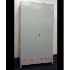 Стеллаж СТ-Д (2000х1000х600)  (в комплектации  двери и боковые зашивки)