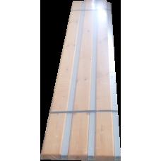 Скамья СК-1С (односторонняя со спинкой) разборная