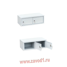 Шкаф настольный ШК-2Н(Г) (215х600х310)мм. 2 ячейки