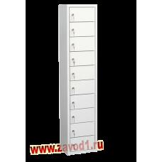 Шкаф на 10 ячеек (1400х300х220) (Сварной) под заказ 7-10 раб. дн