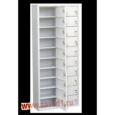 Шкаф на 20 ячеек (1400х600х220) (Сварной) под заказ 7-10 раб. дн