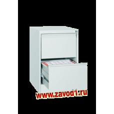 Шкаф картотечный КР-2 (2 ящика) 710х485х600 (под заказ 7-10 р.д)