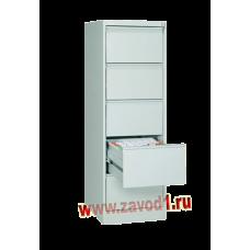 Шкаф картотечный КР-5 (5 ящиков) 1610х485х600 (под заказ 7-10 р. д)
