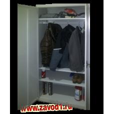 Сборно-разборный шкаф для одежды ШХА-850. 0 +П(1850х850х500)