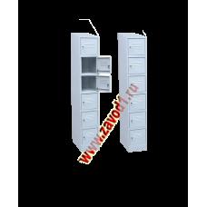 Шкаф на 6 ячеек (1750х300х500)мм. (Сварной)