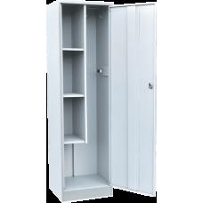 Шкаф для уборочного инвентаря ШУ-500 (Сварной) (1860х500х400)