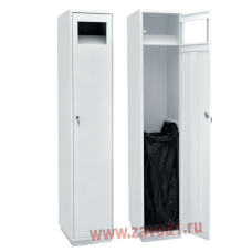 Шкаф для сбора грязной одежды ШР-1-0 (Сварной) (1820х380х450)