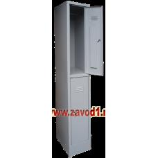 Шкаф для одежды ШР-12 (сварной) (1860х300/400х500)