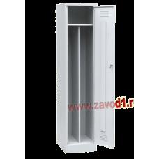 Шкаф для одежды ШР-21/400 с перегородкой (Сварной) (1860х400х500)