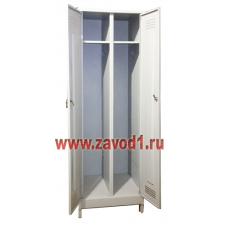 Шкаф для одежды ШР-22 на ножках (сварной) (1990х600/800х500)