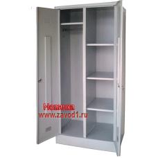 Шкаф для одежды раздевально-архивный ШРА-22 (сварной) (1860х600/800х500)
