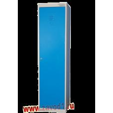 Шкаф для одежды ШРК -21 с перегородкой (разборный) клепка (1850х530х490)