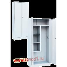 Шкаф для уборочного инвентаря ШУ-800 (Сварной) (1860х800х400). новинка