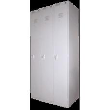 Сборный модулем шкаф для одежды ШРС-11/3 секции (1850х900/1200х500)