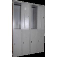 Сборный модулем шкаф для одежды ШРС-12/4 секции на 8 отделений (1850х1200х500)